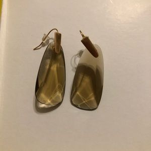Brown & Rose Gold Kendra Scott Earrings